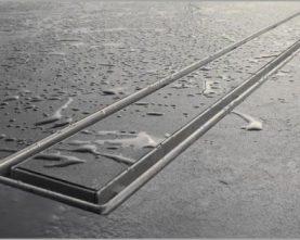 کفشور خطی استیل